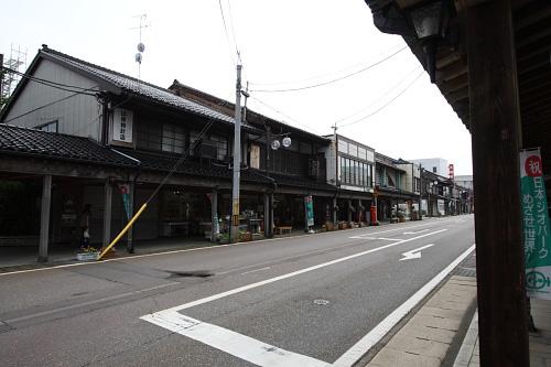糸魚川の古い町並み