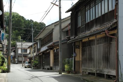 京都府・猪崎の古い町並み「一路...