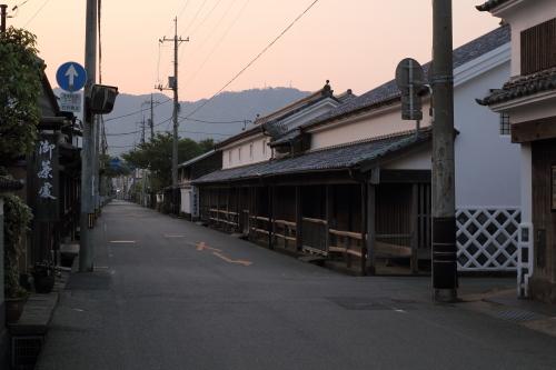 山口県・萩市呉服町界隈の古い町...