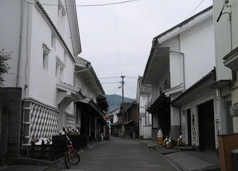 臼杵の古い町並み